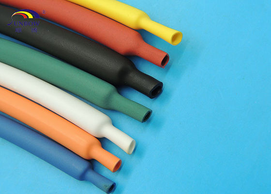 Shrink Ratio 4 : 1 Semi-rigid Polyolefin Heat Shrinkable Tube Adhesive-lined for Automobile