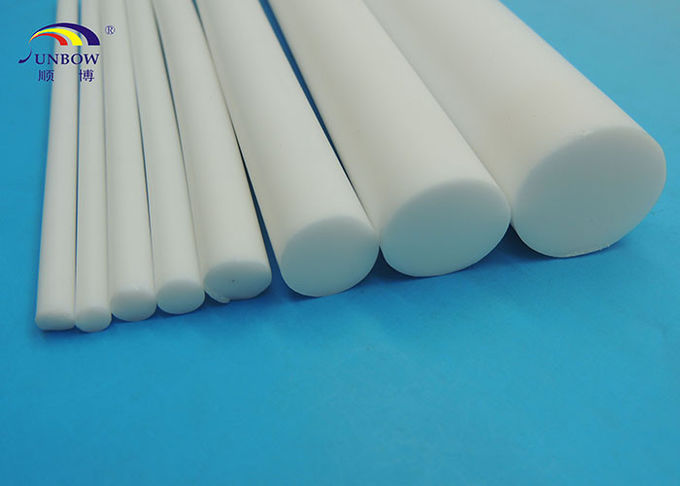 Customized Moulded Dielectric PTFE Products Teflon Rod with ISO9001 Certification